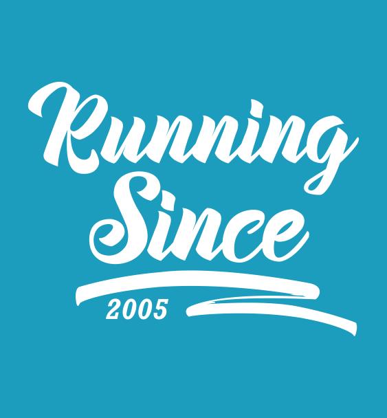 running since logo