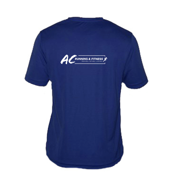 AC running mens t-shirts back