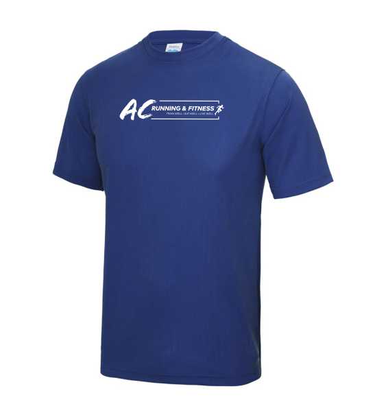 AC running mens t-shirts front