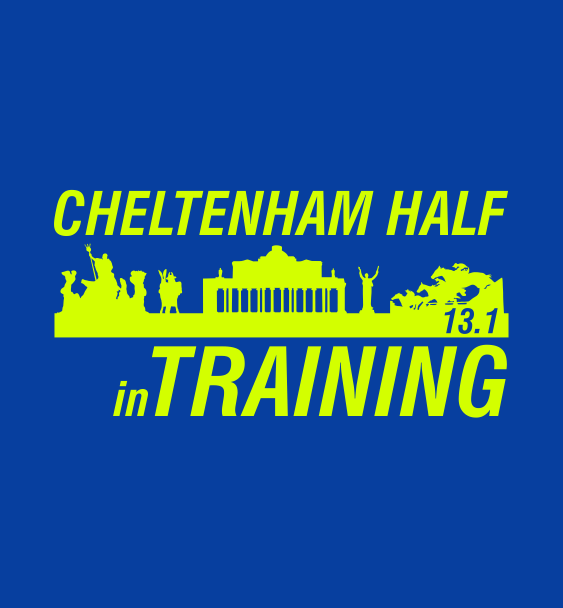 Cheltenham Half in training logo