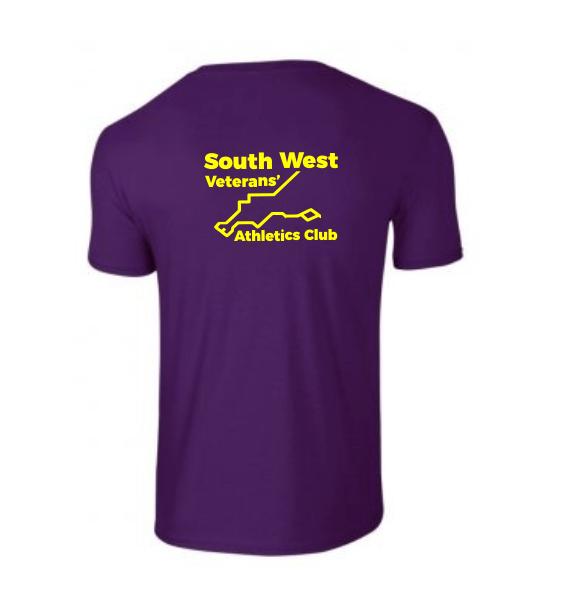 South West Veterans Men's T-shirt back