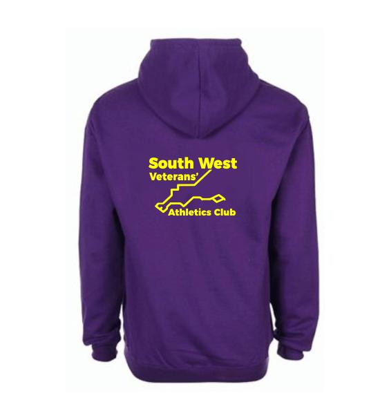 south west veterans hoodies back