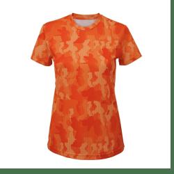 Ladies Hexoflage Running T-shirt