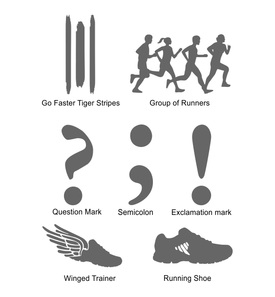 Reflective symbols 1