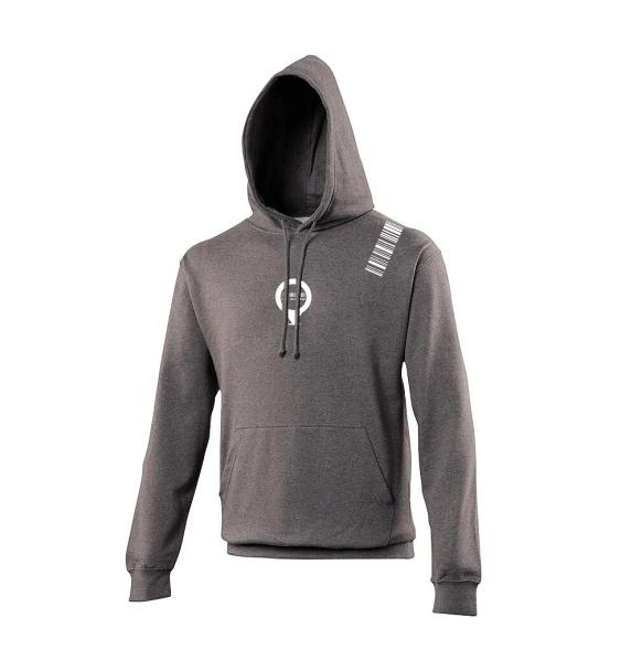 WMN hoodies charcoal grey front
