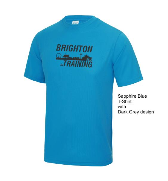 Brighton-training-sapphire-tshirt