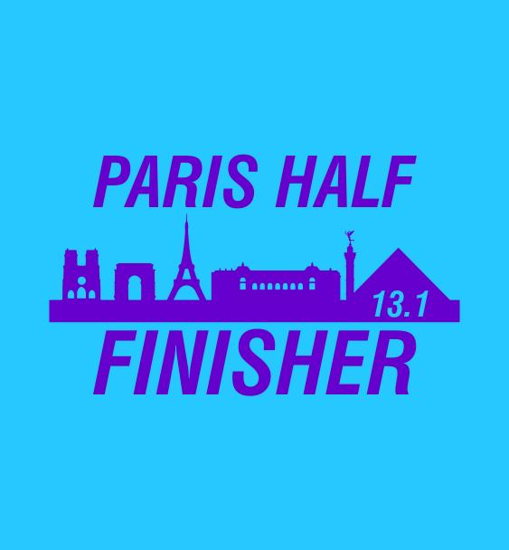 Paris half finisher2