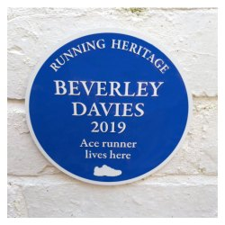 Running Heritage Plaque