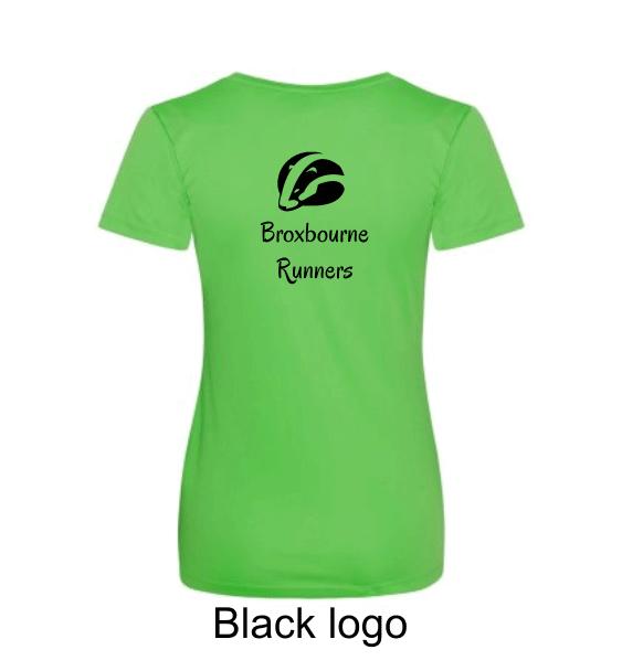 Broxbourne-Runners-lime-tshirt-back-black