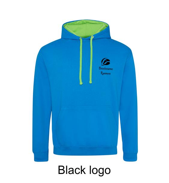 Broxbourne-Runners-sap-blue-hoodie-front-black