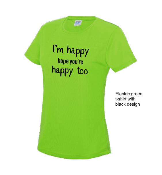 lyrics-ladies-e-green-tshirt