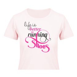 All Ladies Running T-shirts