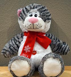 Roy's Stuffed Animal - Christmas 2013