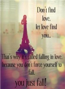 Blog 72 Let Love Find You