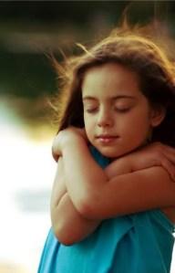 self-hugging