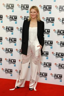 Cate Blanchett couldn't be more low key cool in this Givenchy jumpsuit if she tried