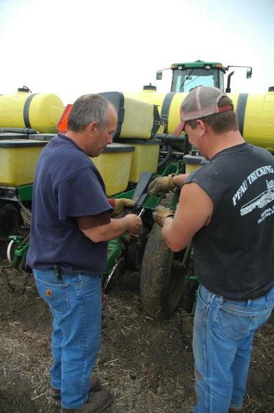 Replacing a seed tube sensor