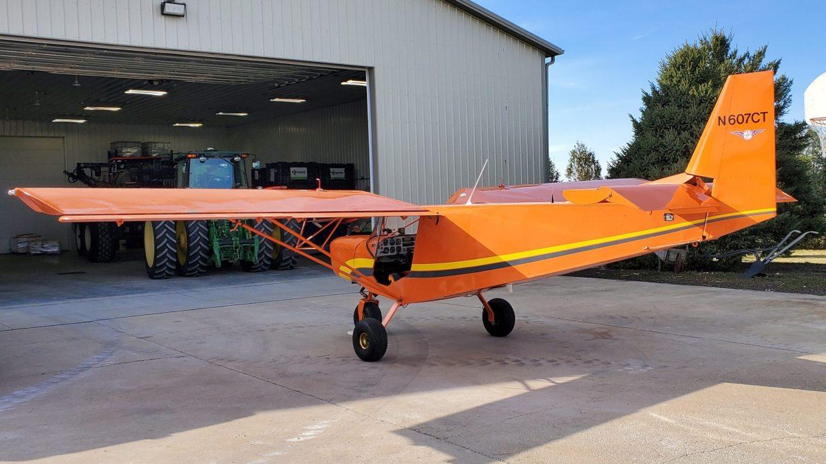 3-13-21 Plane At Farm