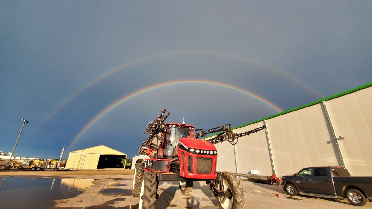 Double Rainbow Sprayer