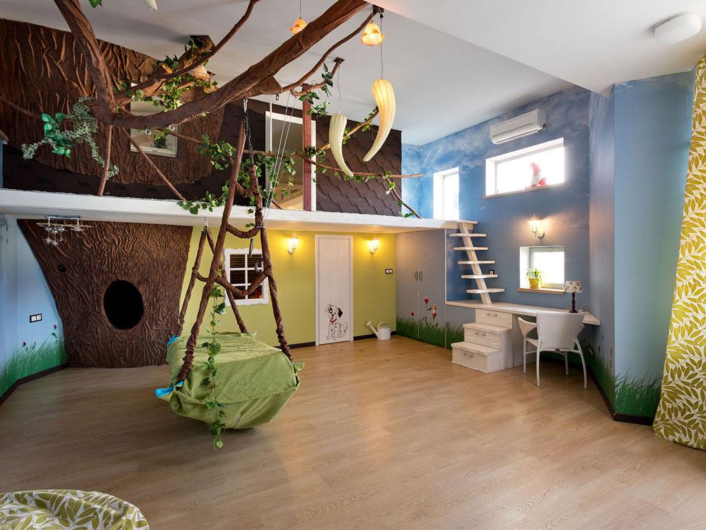 Nature Themed Kids Bedroom Novocom Top