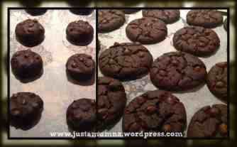 Double Chocolate Chip Cookies 4