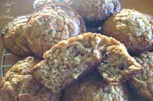 Apple Banana Carrot Oat Muffins 3
