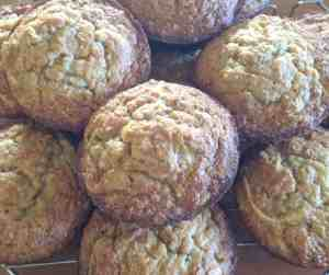 Apple Banana Carrot Oat Muffins 4