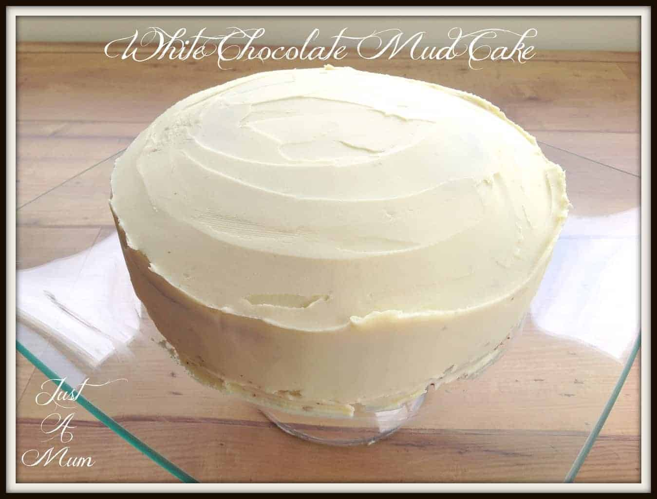Rich white mud cake recipe