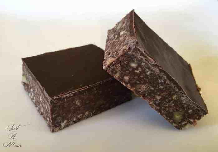 No Bake Chocolate Slice 3
