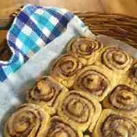 Glazed Cinnamon Pinwheel Scones
