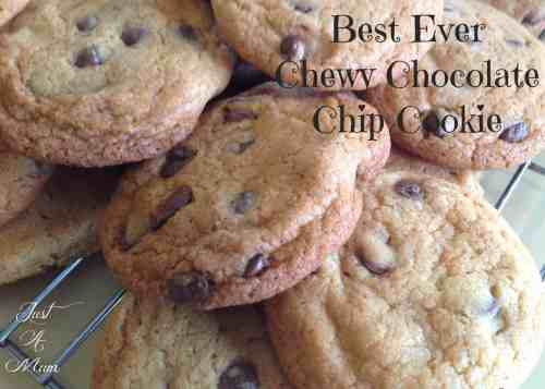 Best Cookie - Best Ever Chewy Chocolate Chip Cookie