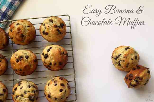 Just A Mum's Banana Chocolate Muffins 1