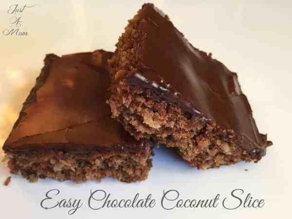 Just a Mum's Chocolate Coconut Slice 4