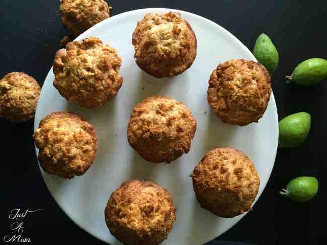 Feijoa Crunch Muffins 3