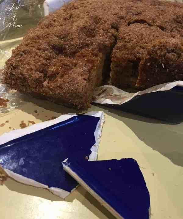 Behind the Scenes Apple Cinnamon Cake