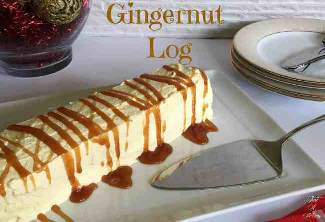 Just A Mum's Gingernut Log