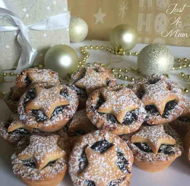 Just A Mum's Tasti Christmas Fruit Mince Pies