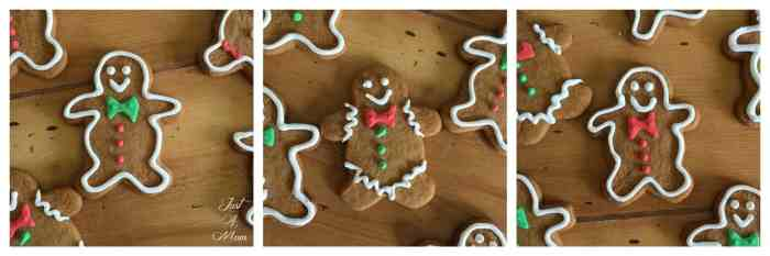 Just A Mum's Gingerbread Men