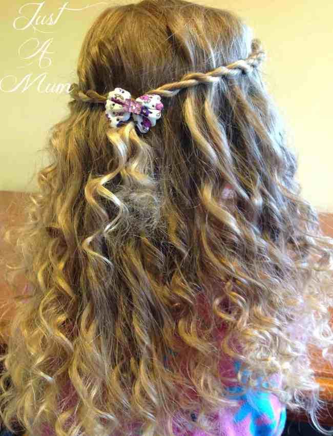 Just A Mum's Ringlet Rag Curls