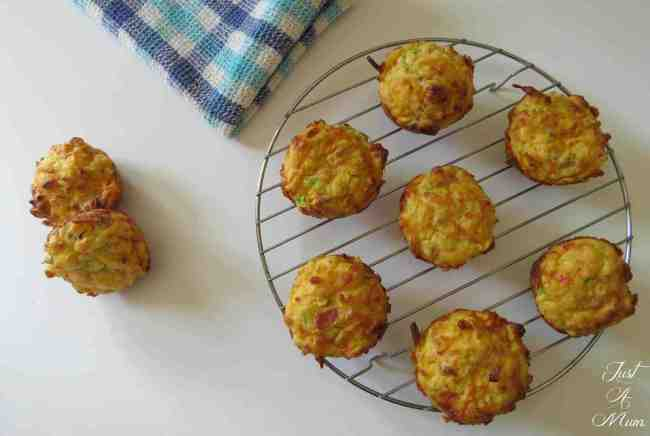 Vegetable Muffins - Just A Mum