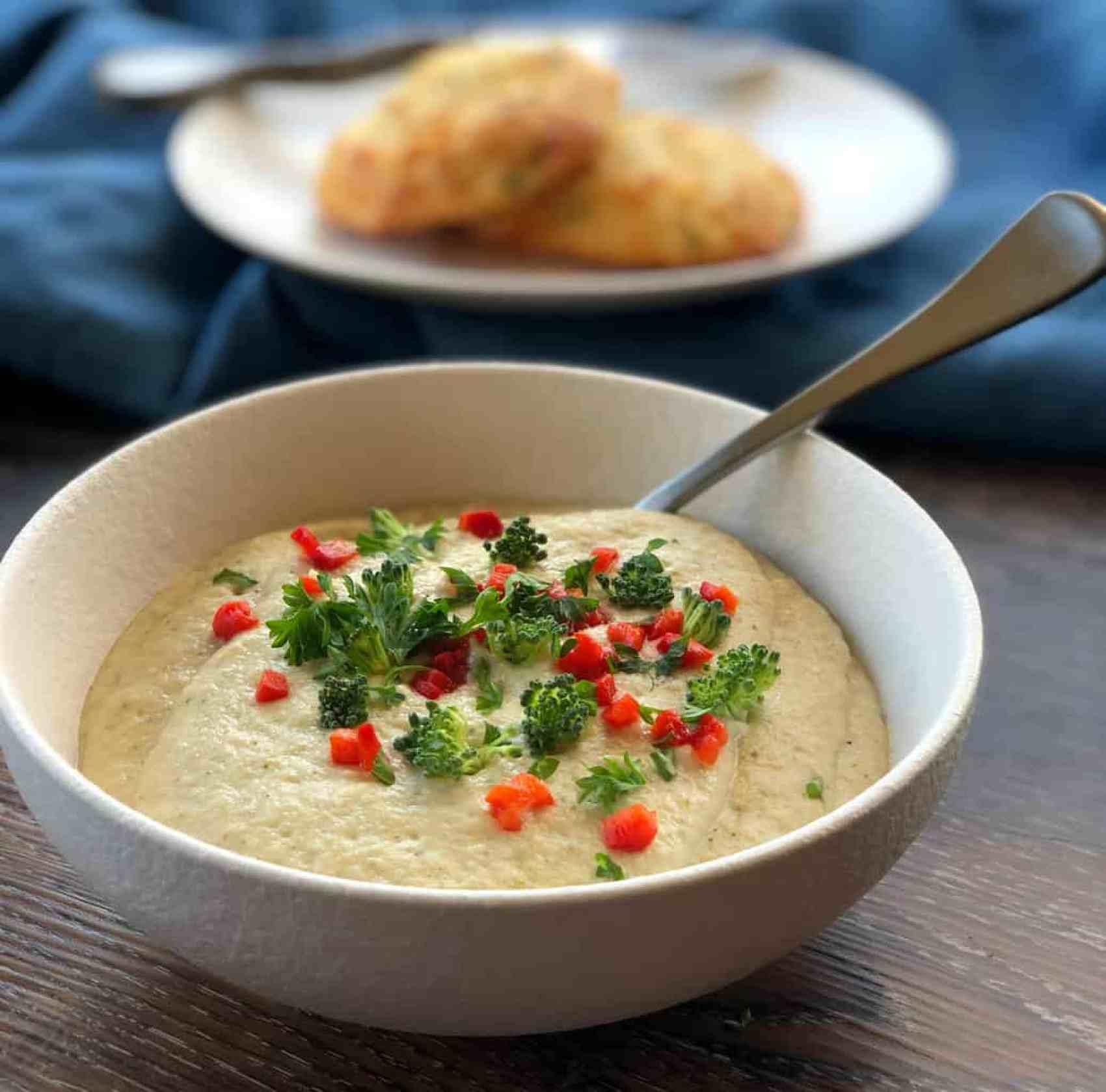 Cauliflower & Broccoli Soup