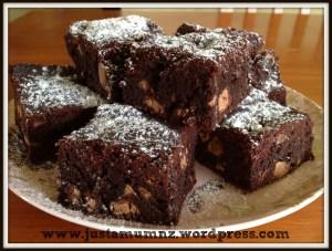 chocolate brownie 6