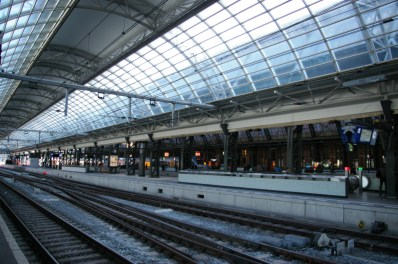 08. Amsterdam Central Track 10-11