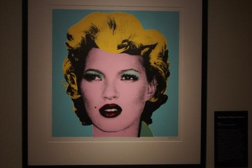 Andy Warhol portrayed Marilyn Monroe. Banksy portrayed Kate Moss...