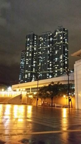 Exploring Hong Kong at night; Kowloon Park