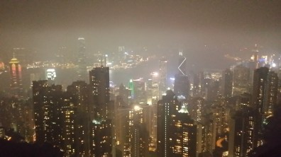 On top of the world! (Or at least Hong Kong)