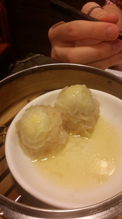 Traditional siu mai... surprisingly tasty!