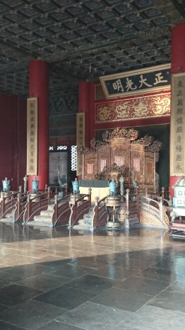 Throne of the Palace of Heavenly Purity, Forbidden City