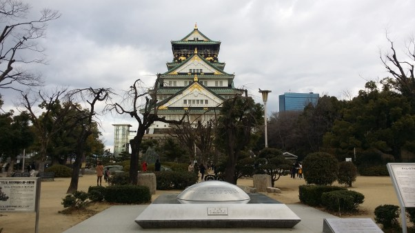 Osaka Castle and the time capsule to be opened in 6970!