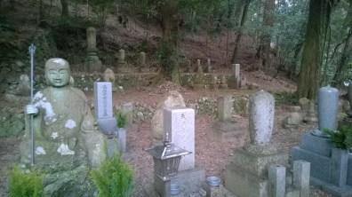 Graveyard in Mino Park